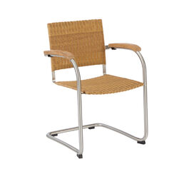 Bolero Stackable Cantilever Chair, Mesh