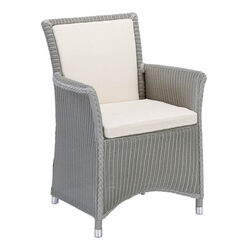 Loom Grace Armchair, Pebble Grey