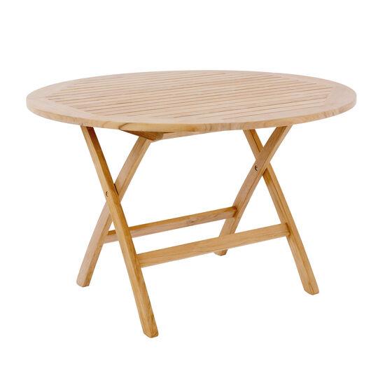 Gartentisch Schirmloch.Folding Table Round ø 120 With Parasol Hole