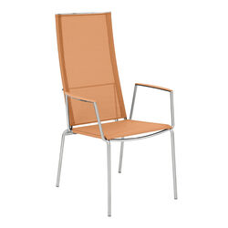 Porto High Back Chair 75, Fruity Orange