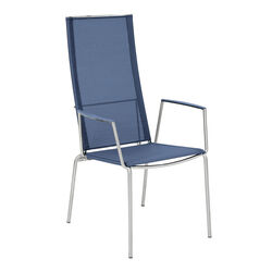 Porto High Back Chair 75, Midnight Blue