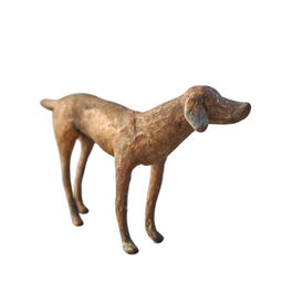 Bronze dog Aristo, limited edition