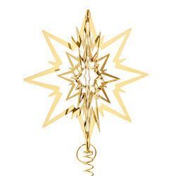 Star Christmas Tree Star, Gold