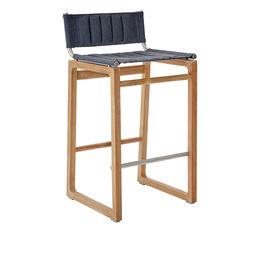 Benton Bar Stool Blue Smoke