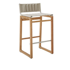 Benton Bar Stool Stormy Grey