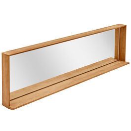 Fascino Mirror with teak frame Horizontal