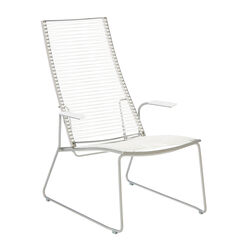 Pan Lounge Chair, White